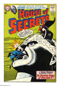 Silver Age (1956-1969):Horror, House of Secrets #65 (DC, 1964) Condition: VF+. Features art byAlex Toth. Overstreet 2005 VF 8.0 value = $53; VF/NM 9.0 val...