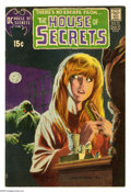 Bronze Age (1970-1979):Horror, House of Secrets #92 (DC, 1971) Condition: FN-. First appearanceand origin of Swamp Thing. Bernie Wrightson cover. Wrightso...
