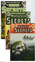 Bronze Age (1970-1979):Horror, House of Secrets Group (DC, 1973-75) Condition: Average VF.Eighteen-issue lot includes #105, 108, 109, 110, 112, 114, 115, ...(18 Comic Books)