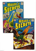 Silver Age (1956-1969):Mystery, House of Secrets #9 and 12 Group (DC, 1958) Condition: Average VG.Artists include Jack Kirby, Bernard Baily, Bill Ely, Rube... (2Comic Books)