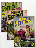 Silver Age (1956-1969):Mystery, House of Secrets #36-40 Group (DC, 1960-61) Condition: AverageVG/FN. This group contains issues #36, 37, 38, 39, and 40. Ap... (5Comic Books)