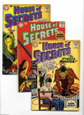 Silver Age (1956-1969):Mystery, House of Secrets #31-35 Group (DC, 1960) Condition: Average VG+.Five-issue lot includes #31, 32, 33, 34, and 35. Featured a... (5Comic Books)