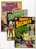 Silver Age (1956-1969):Mystery, House of Secrets #41-45 Group (DC, 1961) Condition: Average FN-.This group contains issues #41, 42, 43, 44, and 45. Approxi... (5Comic Books)
