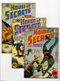 Silver Age (1956-1969):Mystery, House of Secrets #46-50 Group (DC, 1961) Condition: Average VG/FN.This group contains issues #46, 47, 48, 49, and 50. Issue... (5Comic Books)