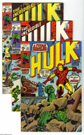 Bronze Age (1970-1979):Superhero, The Incredible Hulk Group (Marvel, 1970-72). The mightiest man-monster of them all is featured in these issues of The Incr... (16 Comic Books)