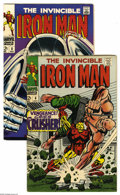 Iron Man #6 and 8 Group (Marvel, 1968) Condition: VF. This group consists of two comics: #6 and 8. George Tuska and John...