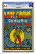 Golden Age (1938-1955):Crime, Law Against Crime #3 (Essenkay Publishing, 1948) CGC FN- 5.5 Off-white pages. L.B. Cole cover and art. Used in Seduction o...