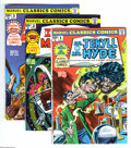 Bronze Age (1970-1979):Classics Illustrated, Marvel Classics Comics Group (Marvel, 1976-77) Condition: AverageVF/NM. Marvel adapts classic stories in this group of Ma... (13Comic Books)