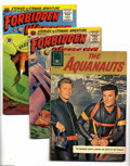 Silver Age (1956-1969):Adventure, Miscellaneous Silver Age Adventure Group (Various, 1958-61). This group contains The Aquanauts #1197 (VG+ condition), ... (6 Comic Books)