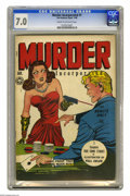 Golden Age (1938-1955):Crime, Murder Incorporated #1 (Fox Features Syndicate, 1945) CGC FN/VF 7.0 Cream to off-white pages. Overstreet 2005 FN 6.0 value =...
