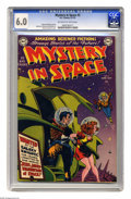 Golden Age (1938-1955):Science Fiction, Mystery in Space #2 (DC, 1951) CGC FN 6.0 Off-white to white pages.Carmine Infantino cover. Infantino, Murphy Anderson, and...