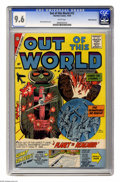 Silver Age (1956-1969):Science Fiction, Out of This World #15 White Mountain pedigree (Charlton, 1959) CGCNM+ 9.6 White pages. Vincent Alascia cover. Overstreet 20...