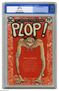 Modern Age (1980-Present):Humor, Plop! #1 (DC, 1973) CGC NM+ 9.6 Off-white to white pages. BasilWolverton cover. Berni Wrightson, George Evans, and Sergio A...