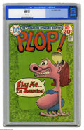Bronze Age (1970-1979):Humor, Plop! #6 (DC, 1974) CGC NM 9.4 White pages. Basil Wolverton cover.Sergio Aragones art. Overstreet 2005 NM- 9.2 value = $20....