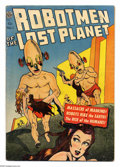Golden Age (1938-1955):Science Fiction, Robotmen of the Lost Planet #1 (Avon, 1952) Condition: VG. GeraldMcCann and Gene Fawcette art. Overstreet 2005 VG 4.0 value...