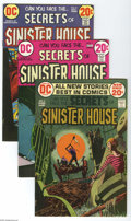 Bronze Age (1970-1979):Horror, Secrets of Sinister House #6-10 Group (DC, 1972-73) Condition:Average VF/NM. Five-issue lot includes #6, 7, 8, 9, and 10. F... (5Comic Books)