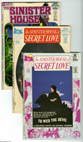 Bronze Age (1970-1979):Horror, Sinister House of Secret Love #2-5 Group (DC, 1971-72) Condition:Average VF/NM. Four-issue lot includes #2 (Jeff Jones cove... (4Comic Books)