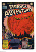 Golden Age (1938-1955):Science Fiction, Strange Adventures #2 (DC, 1950) Condition: GD/VG. Jim Mooney coverart. Jack Kirby, Win Mortimer, and Curt Swan interior ar...
