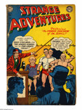 Golden Age (1938-1955):Science Fiction, Strange Adventures #15 (DC, 1951) Condition: GD/VG. Gil Kane coverart. Murphy Anderson, Mort Drucker, and Carmine Infantino...