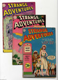 Golden Age (1938-1955):Science Fiction, Strange Adventures #51-53 Group (DC, 1954-55). This group consistsof three comics: #51 (GD+); 52 (VG+); and 53 (VG-) (last ... (3Comic Books)