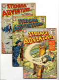 Golden Age (1938-1955):Science Fiction, Strange Adventures #54-59 Group (DC, 1955) Condition: Average VG+. This group consists of six comics: #54, 55, 56, 57, 58, a... (6 Comic Books)