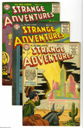 Golden Age (1938-1955):Science Fiction, Strange Adventures #61 and 65-69 Group (DC, 1955-56) Condition:Average VG+. Six-issue lot includes #61, 65, 66, 67, 68, and... (6Comic Books)