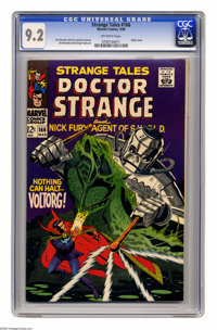 Strange Tales #166 (Marvel, 1968) CGC NM- 9.2 Off-white pages. Robot cover. Jim Steranko and George Tuska art. Overstree...