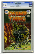 Bronze Age (1970-1979):Horror, Swamp Thing #9 (DC, 1974) CGC NM 9.4 White pages. Bernie Wrightsoncover and art. Overstreet 2005 NM- 9.2 value = $35. CGC c...