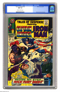 Tales of Suspense #92 (Marvel, 1967) Condition: NM- Off-white to white pages. First crossover appearance of Nick Fury, A...