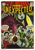 Silver Age (1956-1969):Horror, Tales of the Unexpected #17 (DC, 1957) Condition: VG/FN. Gray-tonecover by Ruben Moreira. Interior art by Jack Kirby, Georg...