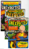Silver Age (1956-1969):Horror, Tales of the Unexpected Group (DC, 1966-67) Condition: Average VF.This lot consists of issues #93, 94, 95, 98, and 99. Over...(Total: 5 Comic Books Item)