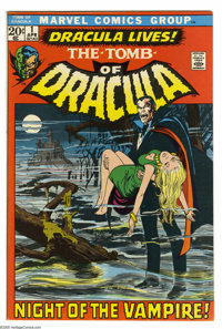 Tomb of Dracula #1 (Marvel, 1972) Condition: VF+. First appearance of Dracula and Frank Drake. Neal Adams cover. Gene Co...