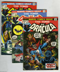 Bronze Age (1970-1979):Horror, Tomb of Dracula Group (Marvel, 1973-74) Condition: VF+. This lotincludes issues #13 (origin Blade), 15, 16, 17 (Blade bitte... (6Comic Books)