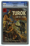 Silver Age (1956-1969):Adventure, Turok #12 File Copy (Dell, 1958) CGC VF/NM 9.0 Cream to off-white pages. Lee Elias art. Painted cover. Overstreet 2005 VF/NM...