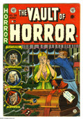 Golden Age (1938-1955):Horror, Vault of Horror #35 (EC, 1954) Condition VG+. Christmas cover, byJohnny Craig. Jack Kamen interior art. Overstreet 2005 VG ...