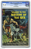 Silver Age (1956-1969):Adventure, Voyage to the Bottom of the Sea #4 (Gold Key, 1966) CGC NM 9.4 Off-white pages. Painted front cover, photo back cover. Al Gi...