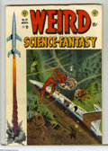 Golden Age (1938-1955):Science Fiction, Weird Science-Fantasy #23 (EC, 1954) Condition: VF-. Ray Bradburyadaptation. Wally Wood cover. Wood, Al Williamson, Bernard...