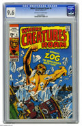 Bronze Age (1970-1979):Horror, Where Creatures Roam #6 (Marvel, 1971) CGC NM+ 9.6 Off-white towhite pages. Don Heck cover. Heck, Steve Ditko, and Jack Kir...