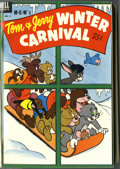 Golden Age (1938-1955):Miscellaneous, Dell Giant Comics Tom and Jerry Winter Carnival #1-7 Bound Volume Group (Dell, 1952-58). Two volumes containing Dell Giant... (2 items)