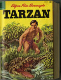 Golden Age (1938-1955):Miscellaneous, Dell Lone Ranger and Tarzan Bound Volumes (Dell, 1956). These are Western Publishing file copies that have been trimmed and ... (2 )