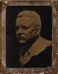 Photographs:Orotone, Attributed to Edward Sheriff Curtis (American, 1868-1952). Teddy Roosevelt, circa 1920. Orotone. 8 x 6 inches (20.3 x 15...