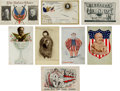 Political:Small Paper (1896-present), William Howard Taft: Fine Grouping of Eight Post Cards. ...