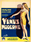 Movie Posters:Comedy, The American Venus (Paramount, 1926). Pre-War Belg...