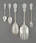 Silver & Vertu:Flatware, A Twenty-Nine Piece Group of Tiffany & Co. Flatware, New York City, circa 1870. Marks: TIFFANY & CO., STERLING; HH... (Total: 29 Items)