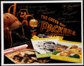 Football Collectibles:Photos, Green Bay Packers Multi-Signed Photograph (9 Signatures).. ...