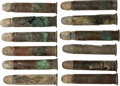Military & Patriotic:Indian Wars, John Sivertsen: Twelve Unfired Rounds Found Near His Effects. ... (Total: 12 Items)