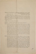 Military & Patriotic:Indian Wars, Marcus Reno: A Fascinating Official Government Report on His May 1877 Court Martial for Conduct Unbecoming an Officer. ...
