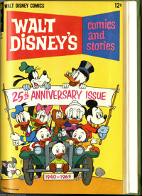 Gold Key Miscellaneous Disney Bound Volumes (Gold Key, 1964-65). These are Western Publishing file copies that have been...