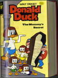 Books:Miscellaneous, Miscellaneous Disney Bound Volume Group (Whitman, 1981). Two bound volumes featuring various Walt Disney comic books: Vol. 7... (2 items)
