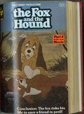 Books:Miscellaneous, Miscellaneous Disney Bound Volume Group (Whitman, 1981). Two attractive bound volumes of Disney comics: Vol. 73 includes C... (2 items)